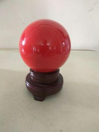 Red crystall ball cheap sales