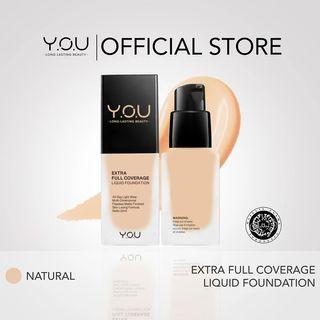 YOU FULL COVERAGE LIQUID FOUNDATION NATURAL