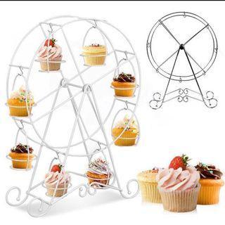 Ferris wheel 8 cupcake holder