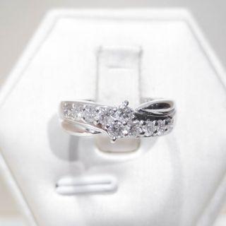 Wishing Star Infinity Diamond Ring