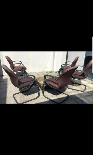 Chairs x 5