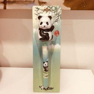 New River Safari Singapore Panda Fan Pen