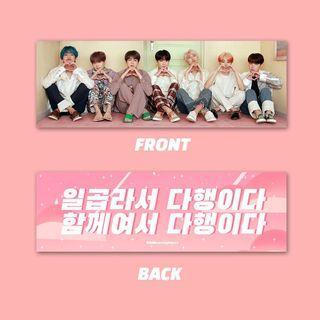 BTS Hand banner