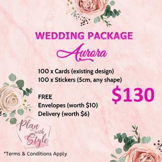 Wedding Package Aurora