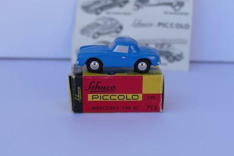 懷舊 Schuco Piccolo Mercedes 1:90 SL  tiny 模型車