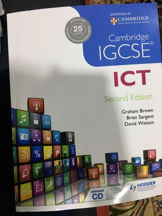Ict book for IGCSE