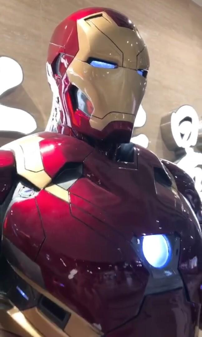 1/1 Ironman Mark46 Avengers 非hottoys