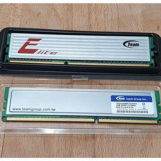 Team Elite 4GB (2x2GB) DDR3 1333 Mhz CL9 Gaming Ram for Sale