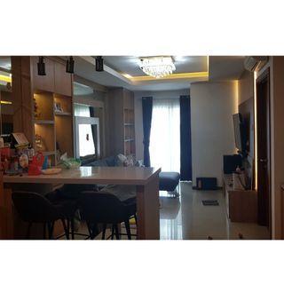 sewa condominium greenbay pluit 2 kamar full furnish