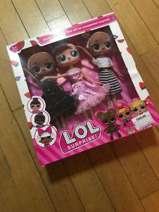 LOL Doll 3 pcs doll