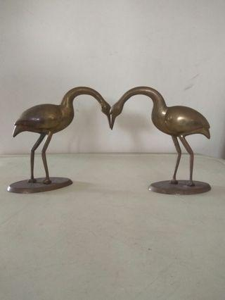 Very nice two copper bird cheap sales