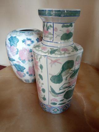 Guci Keramik sepasang