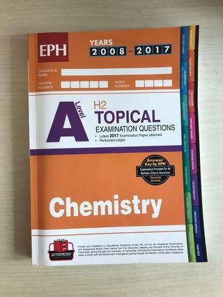 🚚 A Level H2 Topical Examination questions ( Chemistry )
