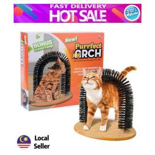 Purrfect Arch Pet Cat Self Groomer Cat Toy Brush Toys Cat Purrfect Scratching