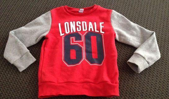 Boys Lonsdale jumper