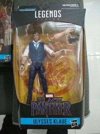 Marvel legends ulysses klaue klaw black panther