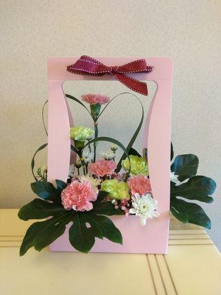 母親節鲜花盒(剛做可放五天或以上)成本價