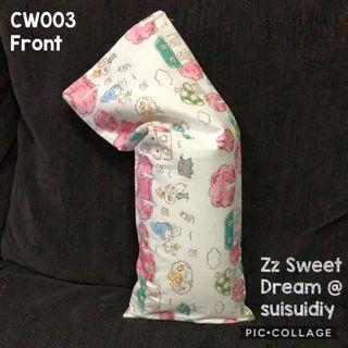 CW003 ~ Baby's Beansprout Husk / Buckwheat Hull Pillow