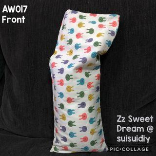 AW017 ~ Bunny Baby's Beansprout Husk / Buckwheat Hull Pillow