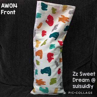 AW014 ~ Baby's Beansprout Husk / Buckwheat Hull Pillow