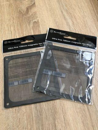 Silverstone Ultra Fine 120mm magnetic fan filter