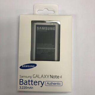 原裝三星 Samsung Galaxy Note 4 / Dual N9100 Battery 3220mah 充電池