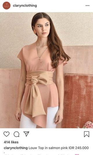 Louw Top - Claryn Clothing