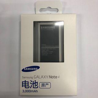 原裝正貨 三星 Samsung Galaxy Note 4 / Dual N9100 3000mah Battery 原廠充電池 有NFC EB-BN916BBC