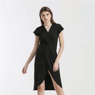 Tulip Twisted Dress - Cloth Inc