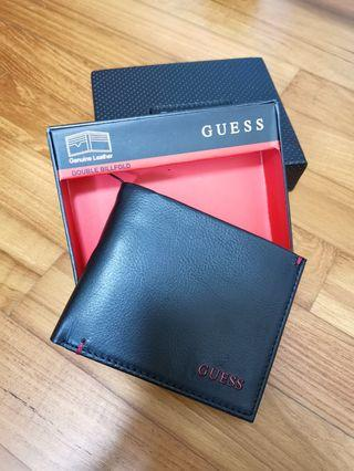 Brand new with tag in box original Guess Men Leather Wallet