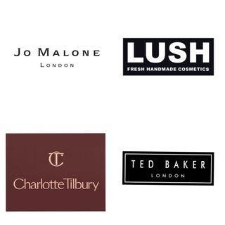 🚚 (PO) Direct fr UK - LUSH JoMalone CharlotteTillbury TedBaker