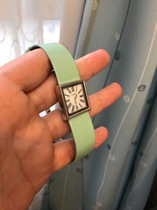 Chanel 經典方形復古可換錶帶 手錶 (90成新 正品)