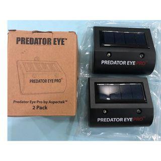Aspectek Eye PRO 4600sq ft Coverage w/Kick Stand Solar Powered Predator Deterrent Light