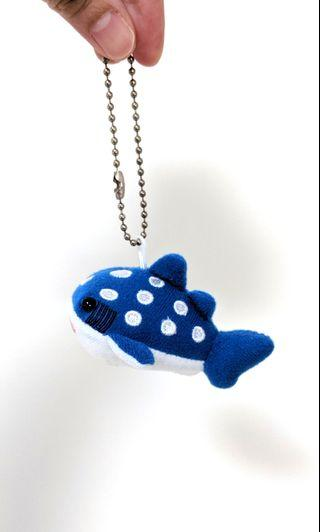 Whale Shark Keychain from Osaka Aquarium Kaiyukan