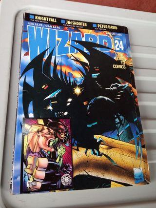 WIZARD - the guide to comics.