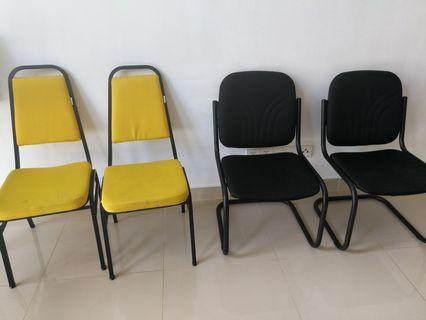 Chairs (All 4 for RM10)