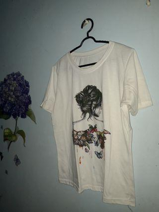 Kaos Putih #BAPAU
