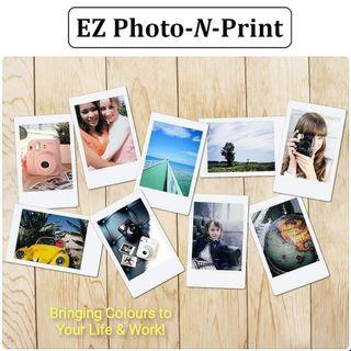 Instax, 3R, 4R, A4 Borderless Photo Printing Service