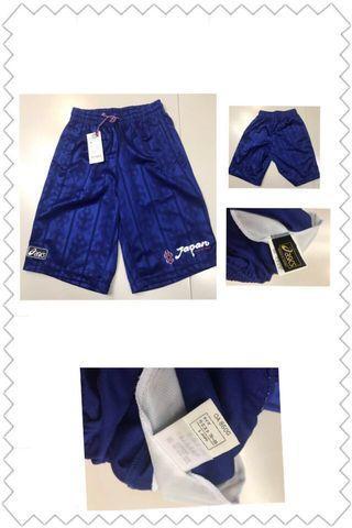 日本國家隊足球波褲龍門練習訓練火炎波衫球衣ASICS 全新有牌Japan football soccer Adidas