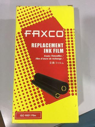 FAXCO-Replacement Ink Film