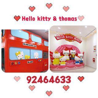 Hello kitty & Thomas town