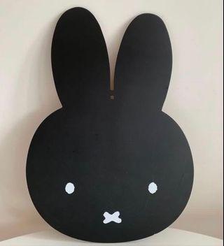 Miffy 頭像黑板