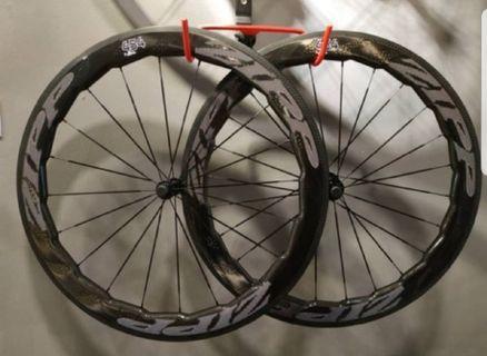 NEW Zipp 454 Road Bike Full Carbon Ceramic Wheelset