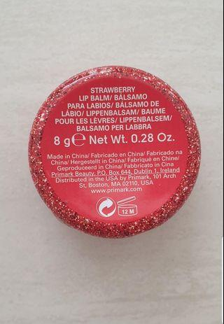 Strawberry Lipbalm Handcarry from USA