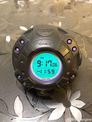 Casio alam muscle clock