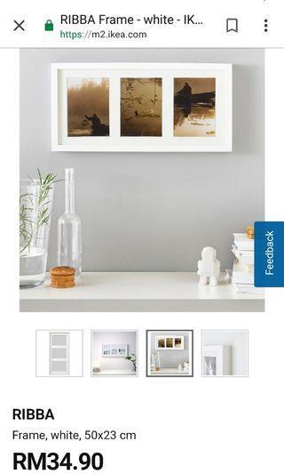 IKEA RIBBA FRAME  50 × 23 cm