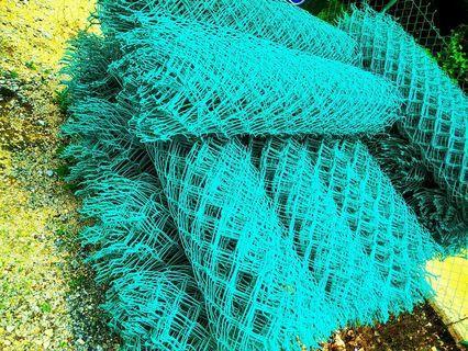 Pagar jaring hijau gi