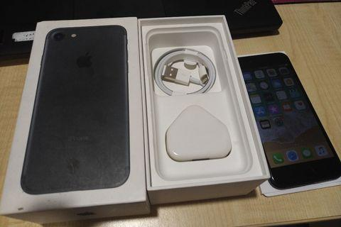 Iphone 7 128gb black my set