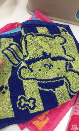 布甸狗 方巾 purin