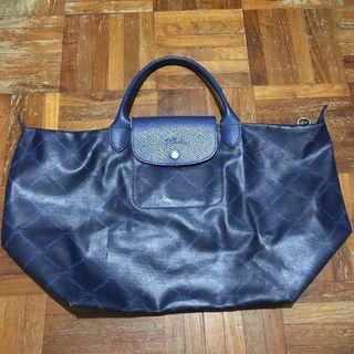 Authentic Longchamp Leather Tote Bag #mrtbedok
